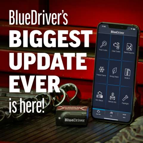 BlueDriver's Biggest Update Ever