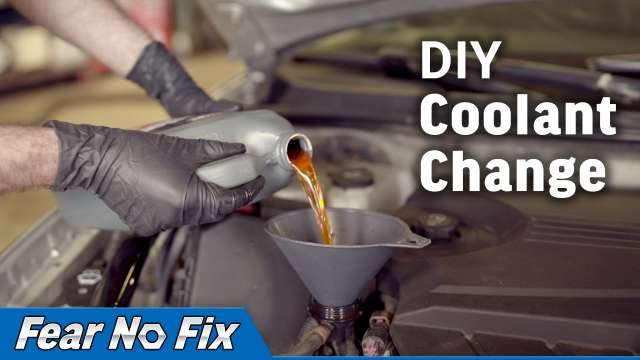 Coolant Change - 2009-2016 3.5L Chevy Impala