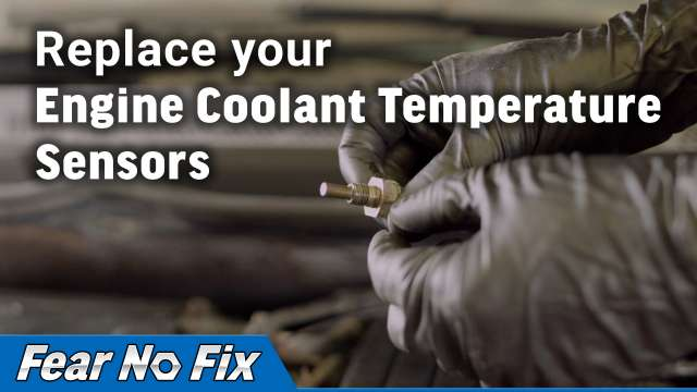Replace you Engine Coolant Temperature Sensor Video
