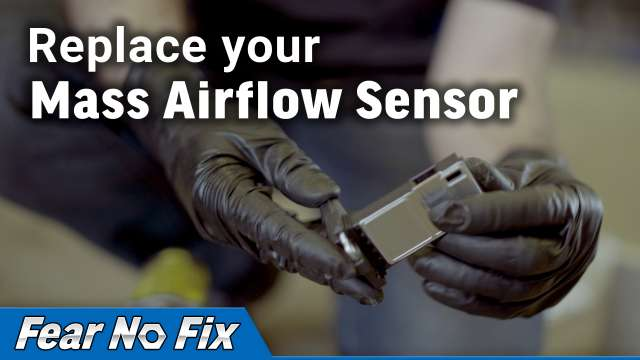 Replace your Mass Airflow Sensor video