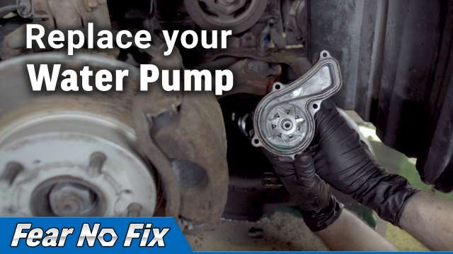 Replace you Water Pump video
